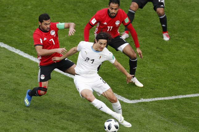 6fd43d539 World Cup  Uruguay coach says no information on seriousness of Cavani injury