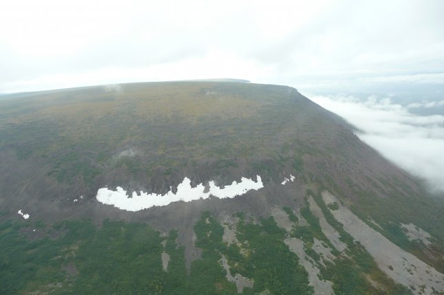 Pictured, Putorana Plateau in Siberia. Researchers say nickel byproduct from a volcanic eruption in Siberia drifted to Australia and killed plants, which were the first casualties of the Great Dying. Photo credit: jxandreani/Wikimedia