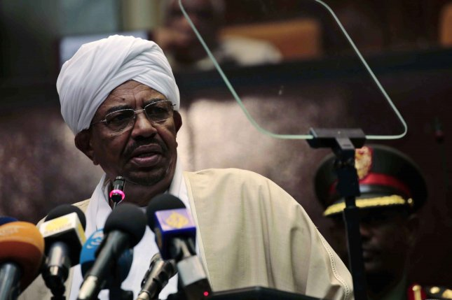 Former Sudan President Omar al-Bashir faces criminal charges for actions during his presidency. File Photo by Morwan Ali/EPA-EFE