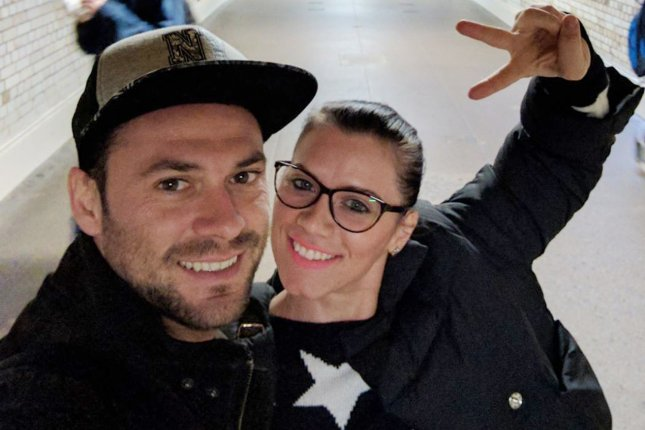 An undated file handout photo made available by the London Metropolitan Police shows Andrei Burnaz (L) and Andreea Cristea (R) -- two of the people injured in the London Westminster attacks on March 22. Cristea died on Thursday after being taken off life support. File Photo by London Metropolitan Police/EPA