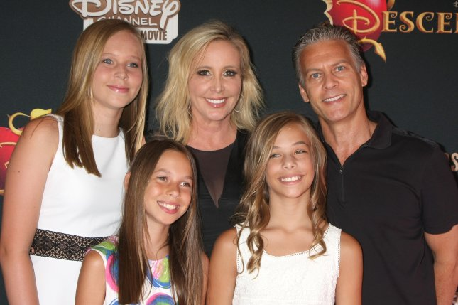 Shannon Beador with her husband David Beador and daughters