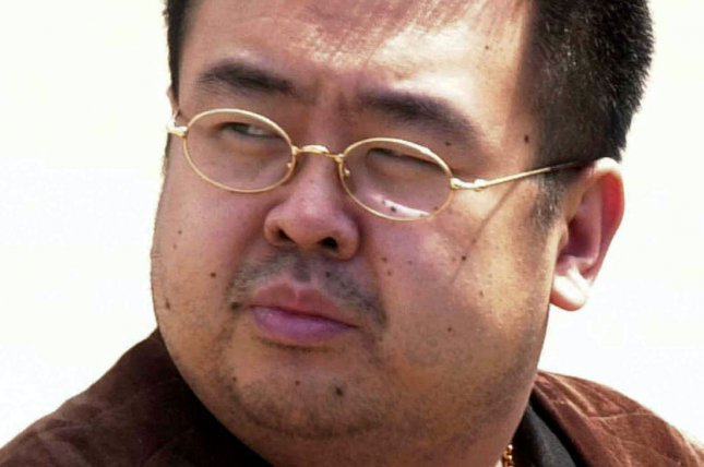 Kim Jong Nam, the exiled half-brother of Kim Jong Un, showed symptoms of muscle paralysis immediately before his death, medical professionals in Malaysia said Tuesday. File Photo by Yonhap/EPA