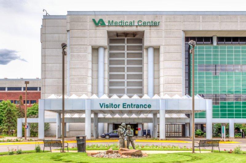 The Minneapolis, Minn., VA Medical Center, part of the U.S. Department of Veterans Affairs. Photo by Ken Wolter/Shutterstock