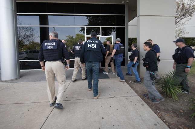Image result for ICE arrests 280 at Texas business in largest immigration raid in decade- Received tips that CVE Technology Group Inc., knowingly hiredundocumented immigrants using fraudulent identification - Audit of theI-9 forms found irregularities