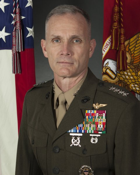 General Gary Thomas, the Marine Corps second-highest ranking officer, has tested COVID-19 positive. Photo by Sgt. Hailey D. Clay/U.S. Marine Corps