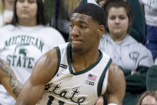 Aaron Henry scored a team-high 18 points to lead Michigan State to an upset victory over Ohio State on Thursday in East Lansing, Mich. Photo by Marc-Gregor Campredon/Wikimedia Commons
