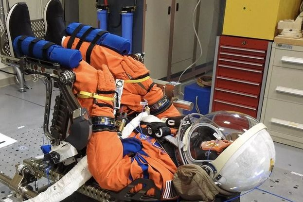 NASA will send three inanimate occupants, like this one, to the moon on Artemis I to help measure radiation and vibration. Photo courtesy of NASA