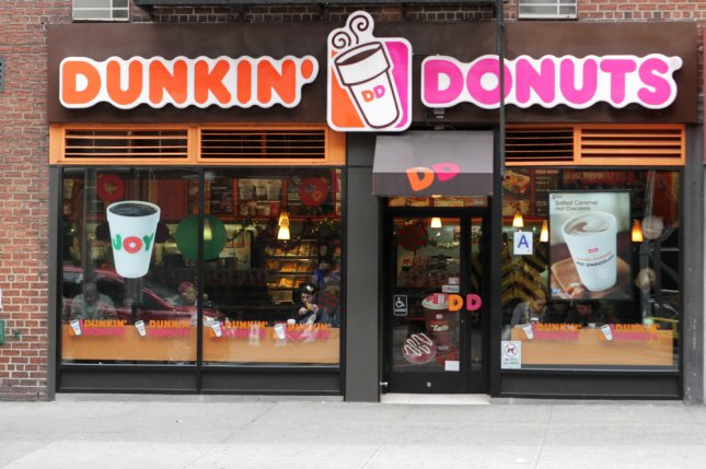 Dunkin' Donuts said Wednesday it will abandon polystyrene foam coffee cups in favor of double-walled paper cups in all its stores by 2020. File Photo by JStone/Shutterstock.com/UPI