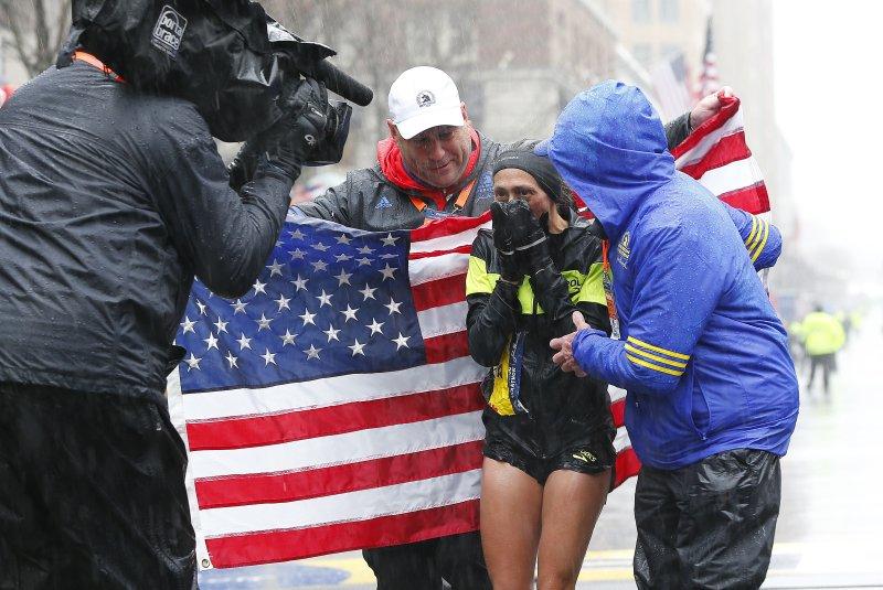Linden becomes first US female to win Boston Marathon since 1985; Japanese amateur wins men's race
