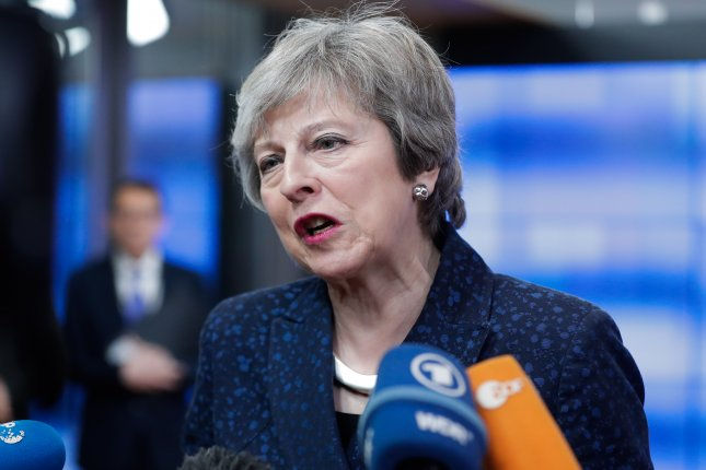 British Prime Minister Theresa May is trying to calm fears in her own Cabinet about a no deal Brexit as calls to take it off the table grew louder among other politicians. Photo by Stephanie LeCocq/EPA-EFE
