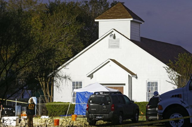 A government report Friday said Sutherland Springs, Texas, shooter Devin Kelley would not have been able to buy the weapons he used if the Air Force had notified the FBI about a domestic violence conviction. File Photo by Larry W. Smith/EPA-EFE