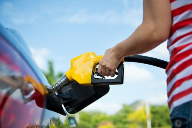 The usual seasonal decline in U.S. retail gasoline prices delayed because of rising crude oil prices and infrastructure problems, AAA said. File Photo by hxdbzxy/Shutterstock