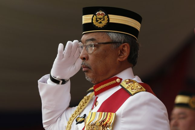 The King of Malaysia Sultan Abdullah Sultan Ahmad Shah declared a state of emergency on Tuesday in an attempt to halt the spread of the COVID-19 disease pandemic. Photo by Ahmad Yusni/EPA-EFE