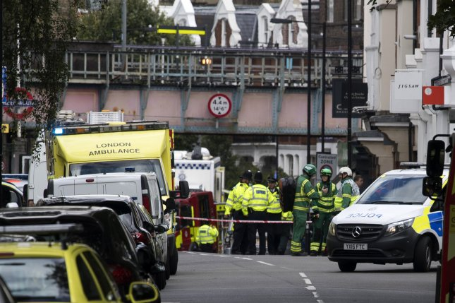 United Kingdom police quiz 2 ex-foster children over London subway bomb