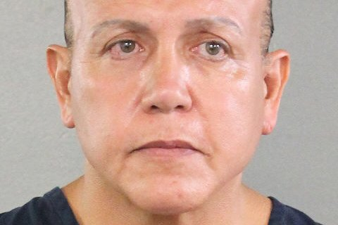Cesar Altieri Sayoc of Aventura, Fla., was arrested Friday in connection with bomb threats mailed to prominent Democrats this week. Photo courtesy of Broward County Sheriff's Office