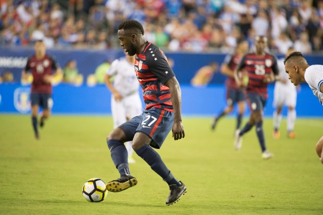 U.S. striker Jozy Altidore made his first start in more than 20 months during a 1-0 win against Panama at the Gold Cup Wednesday in Kansas City, Kan. Photo by Tracie Van Auken/EPA