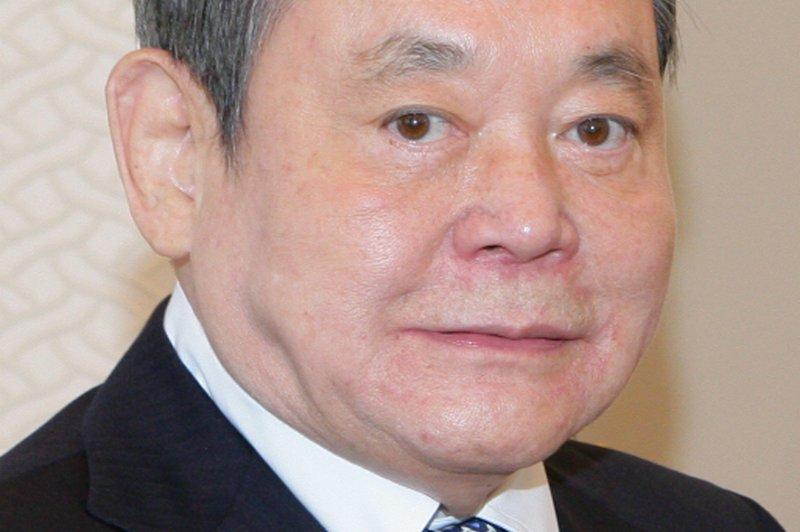 Samsung Electronics Co. Chairman Lee Kun-hee attends a meeting in Hong Kong in 2012. File Photo by Yonhap/EPA