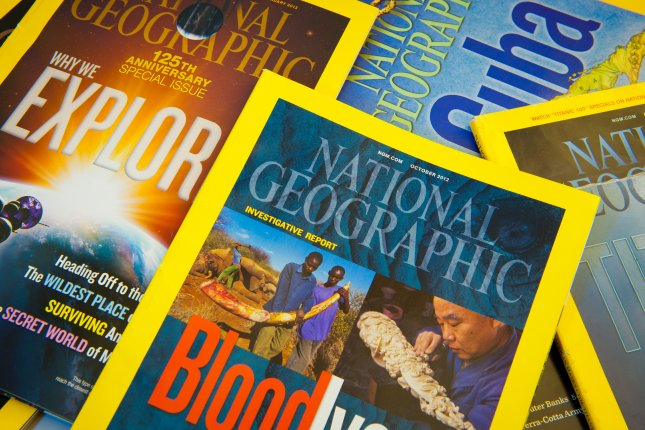 The National Geographic Society sold its iconic magazine and other media assets Wednesday to 21st Century Fox. File photo by JuliusKielaitis/Shutterstock