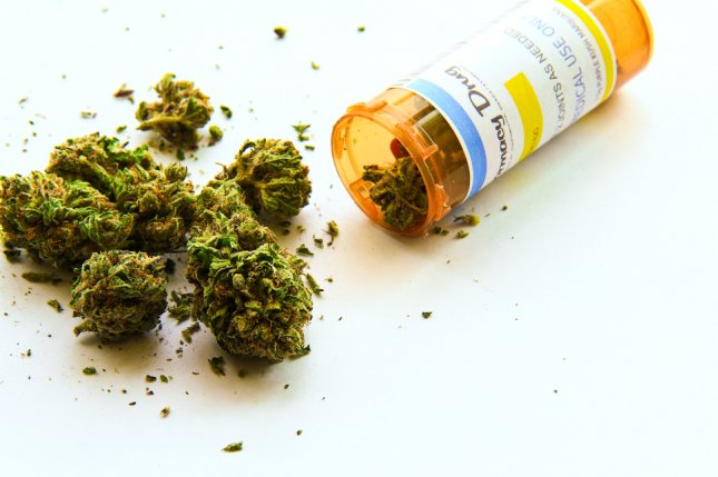 Many people are using THC-containing marijuana products for mental health treatment, but researchers say a review of studies suggests the drug is ineffective for the conditions. File Photo by Atomazul/Shutterstock