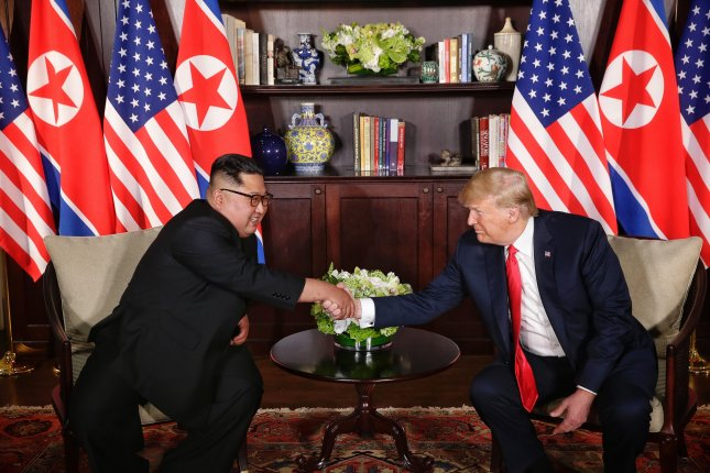 Talks between the two Koreas over its military accord have slowed as the two nations prepare for a second summit between North Korean leader Kim Jong Un and U.S. President Donald Trump. EPA-EFE/KEVIN LIM / THE STRAITS TIMES / SPH SINGAPORE OUT EDITORIAL USE ONLY