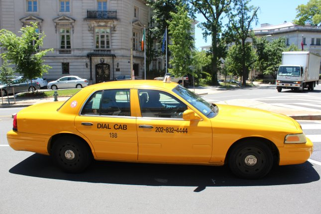 A pair of burglars in New Jersey took a taxi to rob a home and did not pay their driver upon arriving at their apartment. The driver contacted police and the two men were arrested as authorities returned the stolen goods. File photo by Billie Jean Shaw/UPI
