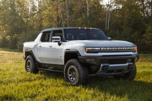 GM's Hummer EV, which will arrive in 2022, will sell for more than $112,000 and is driven by next-generation EV propulsion technology. Photo courtesy General Motors/UPI