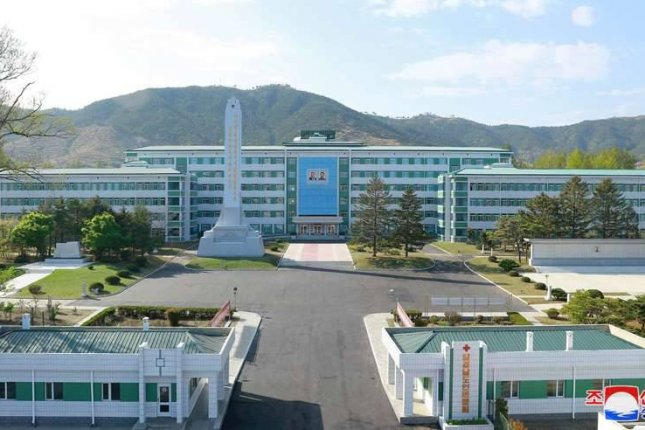 North Korea opened the newly renovated People's Hospital of South Hamgyong Province on Wednesday, according to state media. Photo by KCNA