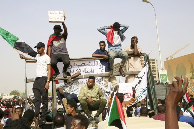 Sudanese protests vow to remain in the streets despite the military's orders against blocking traffic and roads. EPA-EFE/STR