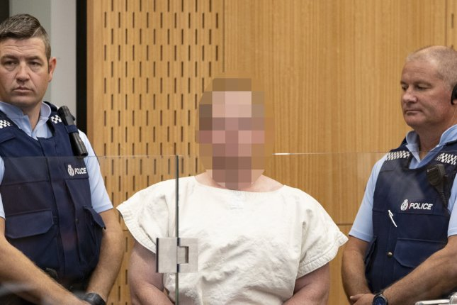 Brenton Tarrant (Pixelated) has told a New Zealand court that he will represent himself next month during sentencing. Photo by Martin Hunter/EPA-EFE