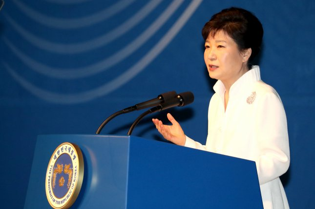 President Park Geun-hye told members of South Korea's national security council Pyongyang is showing serious cracks in its system. Photo by Yonhap News Agency