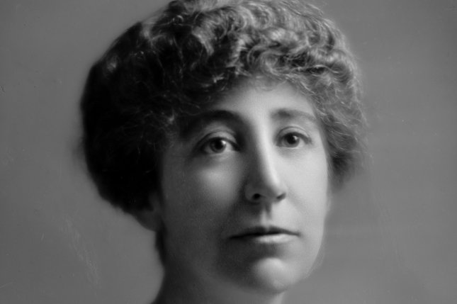 Portrait of Ms. Jeanette Rankin of Montana, in 1916 she became the first woman elected to the United States Congress. File Photo by Library of Congress/UPI