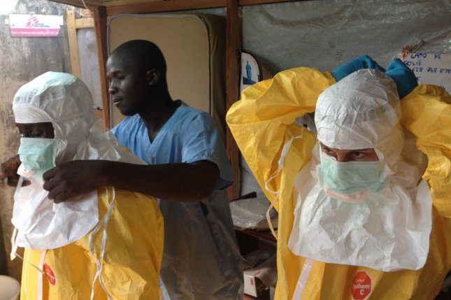 For the first time in West Africa, a case of Ebola was confirmed on 21 March, three weeks after the first alert of a possible viral haemorrhagic fever emerged from Guinea's Forest region.Though frightening and very lethal, relatively simple precautions can break the cycle of transmission and stop the epidemic from spreading. The European Commission's Humanitarian Aid and Civil Protection department (ECHO) supports MSF, WHO and IFRC in their efforts to contain the epidemic. UPI/FILE/EC/ECHO/