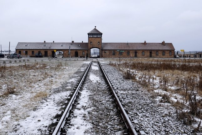 The Auschwitz-Birkenau Memorial and Museum said it plans to file a complaint against an Israeli art student who admitted she stole items from the death camp. File Photo by Andrzej Grygiel/EPA