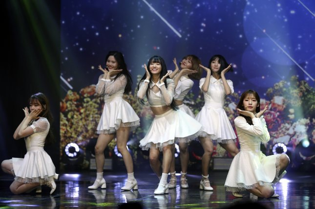 Oh My Girl shared a clip of their SSFWL video ahead of the release of their album The Fifth Season. File Photo by Yonhap News Agency/EPA-EFE