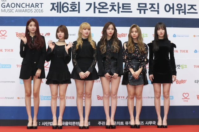 GFriend said Fever Season will include eight songs, including the single Fever. File Photo by Yonhap News Agency/EPA
