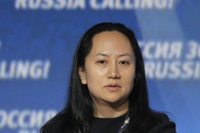 Meng Wanzhou, chief financial officer of China's Huawei Technologies, has been arrested in Canada at the request of U.S. authorities for potential sanction violations against Iran. Photo by Maxim Shipenkov/EPA