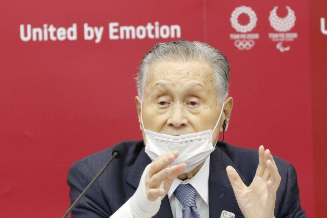 Yoshiro Mori, president of the Japanese Olympic Committee, has apologized after making disparaging remarks about women. File Photo by Rodrigo Reyes Marin/EPA-EFE