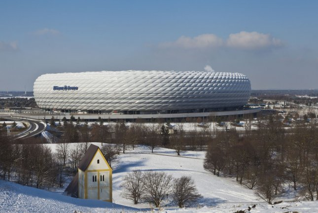 Allianz Arena in Munich is the second-largest stadium in Germany and could serve as the host for a future NFL game if the league selects the city as a host for its International Series. Photo by Diego Delso/Wikimedia Commons