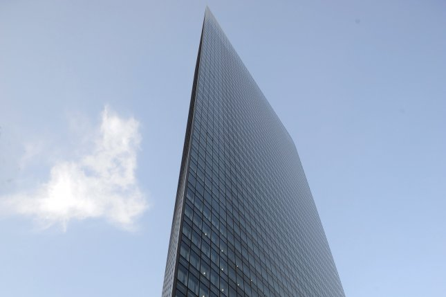 The Japanese advertising company Dentsu, with its headquarters pictured in Tokyo, has been investigated over suspicions of forcing its employees to work excessive hours after Matsuri Takahashi committed suicide on December 25, 2015. It was announced Wednesday that Dentsu president Tadashi Ishii will leave office in January 2017. File photo by Everett Kennedy Brown/European Pressphoto Agency
