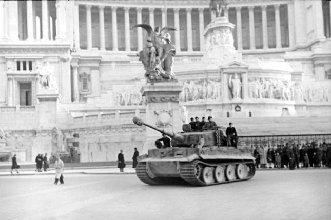On June 4, 1944, the last of German occupiers fled Rome ahead of the advancing U.S. 9th Army. File Photo courtesy of the German Federal Archives