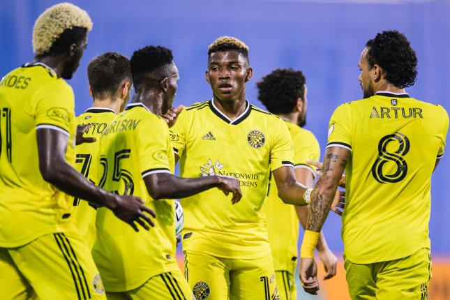 The Columbus Crew defeated the New England Revolution on Sunday to advance to the 2020 MLS Cup final. Photo courtesy of MLS/Columbus Crew