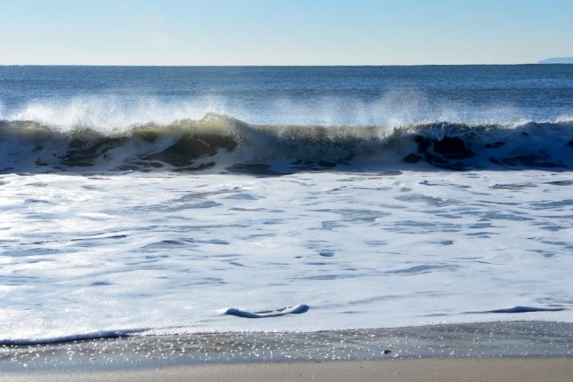 The Atlantic Meridional Overturning Circulation includes the Gulf Stream and circulates warm water to the ocean's surface that contributes to mild temperatures in Europe. File Photo by Victoria Lipov/Shutterstock