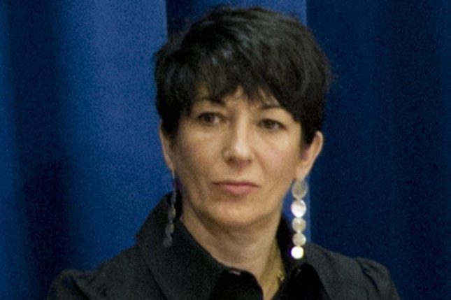 Ghislaine Maxwell appeared in Manhattan federal court Tuesday by video teleconference. File Photo by Rick Bajornas/EPA-EFE