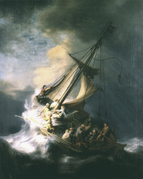 A West Virginia man attempted to sell The Storm on the Sea of Galilee by Rembrandt Harmenszoon van Rijn even though he didn't have possession of the painting. It and several other paintings were stolen from a Boston museum in 1990. Image courtesy Isabella Stewart Gardner Museum