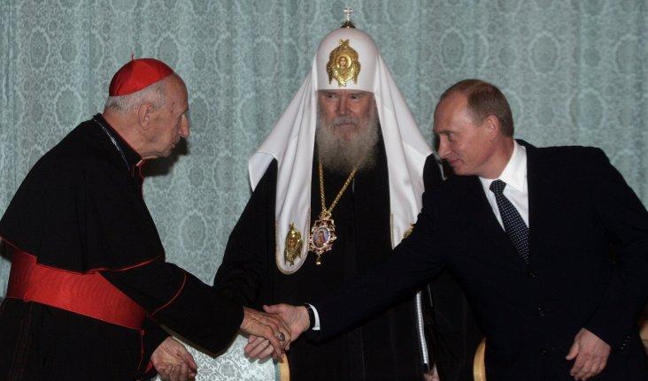Etchegaray y Putin