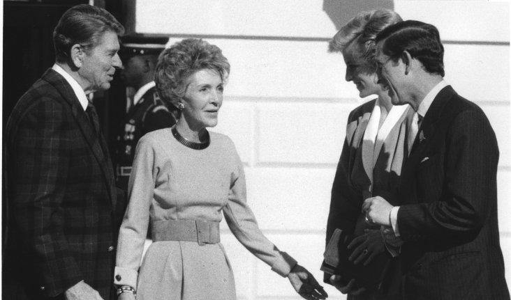 First Lady Nancy Reagan
