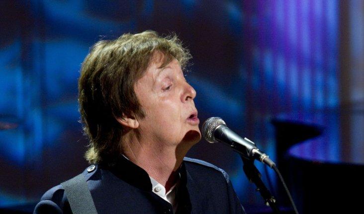 Former Beatle Paul McCartney