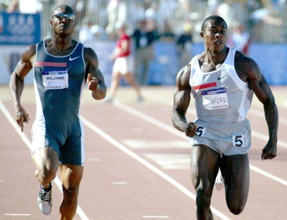 USA Track & Field - Shawn Crawford
