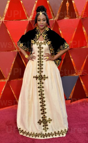 Tiffany Haddish arrives for the 90th annual Academy Awards in Hollywood