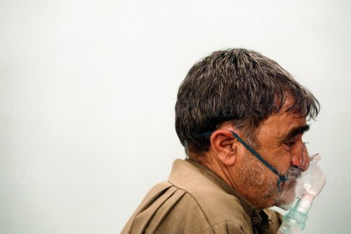 Chemical Attack Victims in Iran